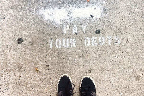 pay off debts without making more money