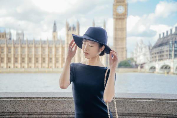 little black dress woman fashion travel